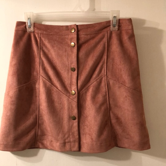 5f88de0d93 She and Sky Skirts | Faux Suede Skirt | Poshmark